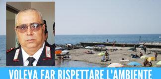 Lite in spiaggia per una sigaretta, maresciallo dei carabinieri muore per un infarto