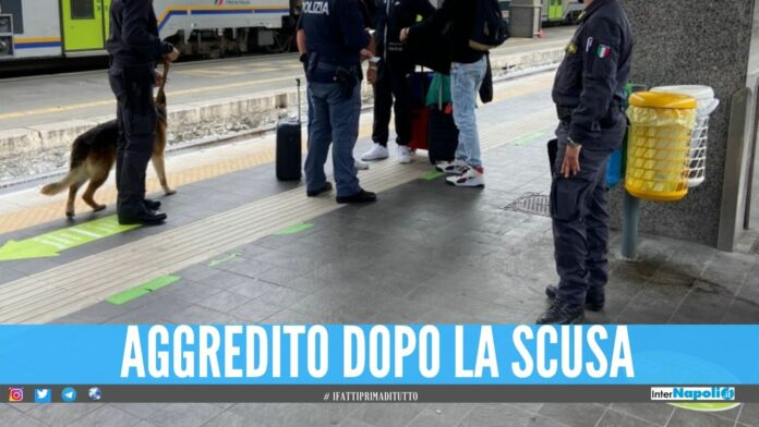 rapina stazione napoli