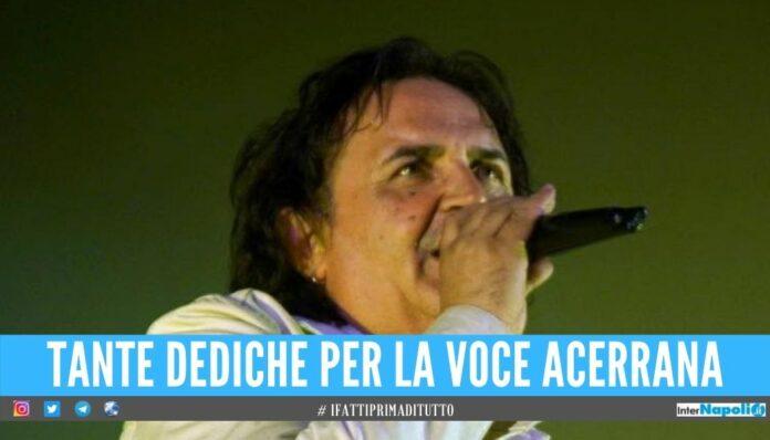 Acerra piange Piero Cucco, le dediche Addio al cantante dalla voce melodica