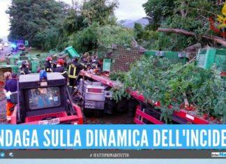 Alfonso perde la vita nell'incidente, lutto in provincia di Napoli