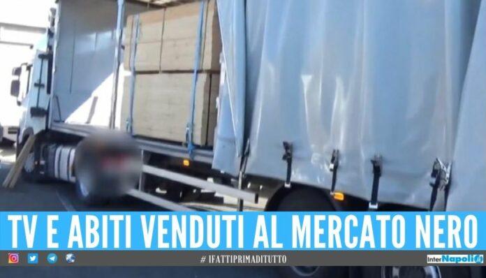 Assaltavano i tir durante la 'pausa' dell'autista, arrestata banda di Napoli