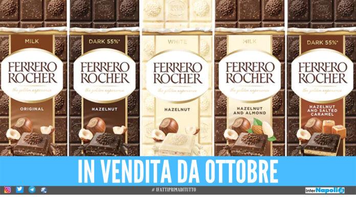 Barrette cioccolato Ferrero Rocher