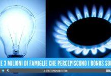 Bollette di gas e luce, famiglie divise tra bonus e aumenti da 300 euro