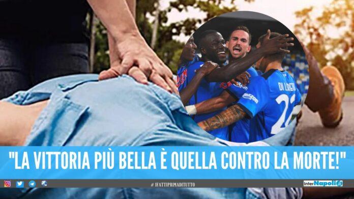 Colpito dall'infarto dopo il gol del Napoli, salvato tifoso a Secondigliano
