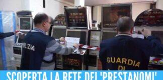 Colpo alle slot-machine della camorra, confiscati 300mila euro ai 3 fratelli