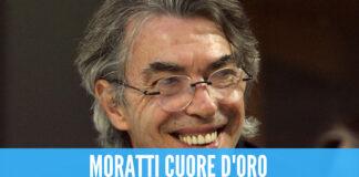 Moratti, l'ex presidente dell'Inter dona il suo stipendio: 1,5 milioni per aiutare gli operai