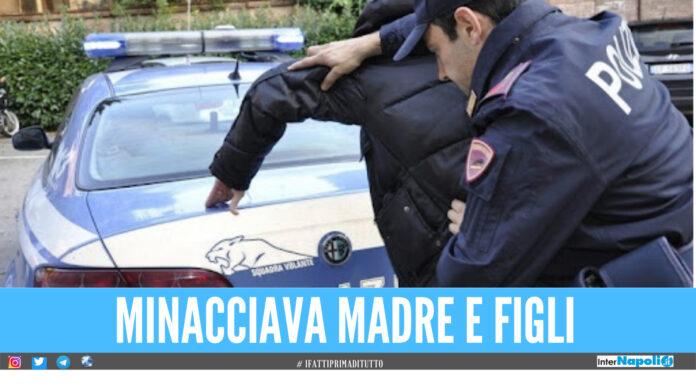 Denunciato dalla moglie, lui ritorna a minacciarla: arrestato 34enne a Portici