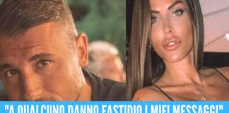 Guendalina Tavassi blocca Umberto D'Aponte dal telefono della figlia, è guerra sui social