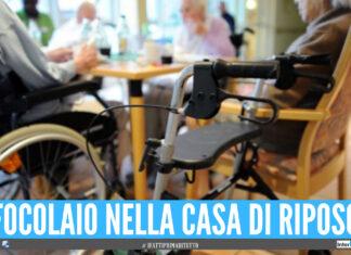 Scoppia focolaio Covid a Caserta, oltre 10 contagiati in una casa di riposo