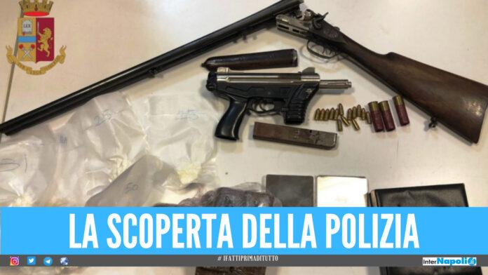 Blitz della polizia Napoli nel vicoletto Chiavettieri, coppia finisce nei guai
