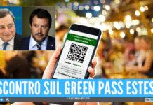 """Green pass esteso, oggi il Consiglio dei Ministri: """"E' un primo passo"""", ma è scontro nel Governo"""