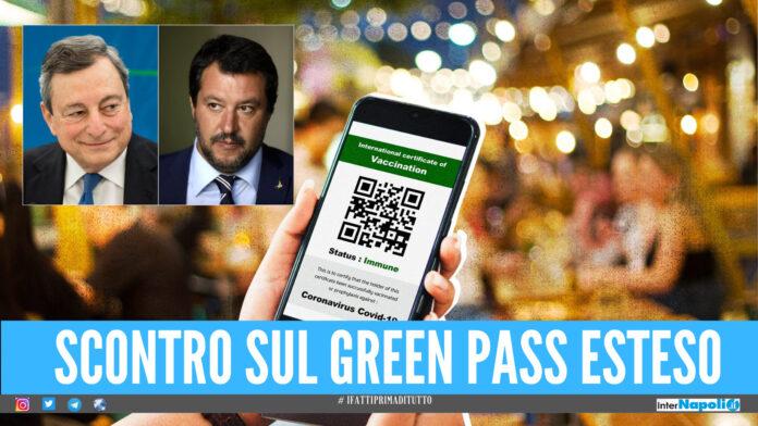 Green pass esteso, oggi il Consiglio dei Ministri: