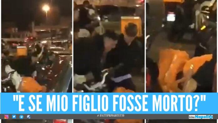 Rider picchiato a Fuorigrotta, identificati 2 minorenni. Uno chiede scusa in radio: