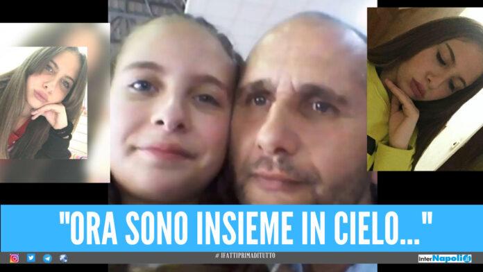 Caivano, il doppio dramma della famiglia Raimo: la 18enne Irene raggiunge il papà in cielo