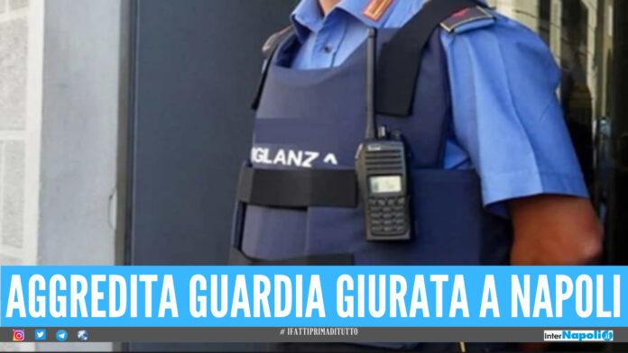 Guardia giurata aggredita a Napoli per rubargli la pistola, 28enne fermato dopo aver sfasciato l'ospedale