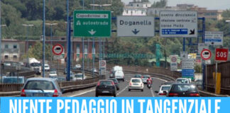Niente pedaggio in Tangenziale