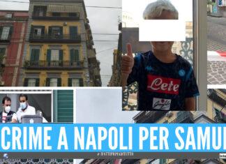 Napoli piange il piccolo Samuele