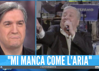 Francesco Merola a Domenica In