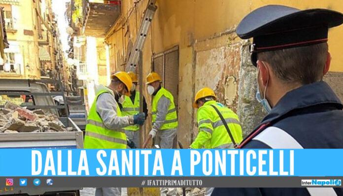 Napoli, rimossi murales e altarini dedicati ai camorristi uccisi