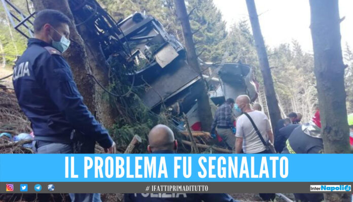 Funivia Mottarone, l'ex dipendente segnalò i problemi: