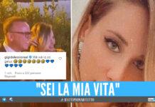 Gigi D'Alessio innamorato pazzo di Denise Esposito, il commento su Ig: «We, io sono geloso!»