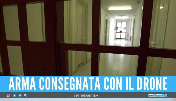Detenuto di Napoli spara nel carcere, è legato alla criminalità organizzata