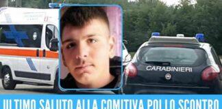 Dramma nel Casertano, il 19enne Giovanni Apuzzo muore nel tragico incidente