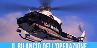 Elicottero in volo su Torre Annunziata, controlli a tappeto dopo l'omicidio e l'agguato