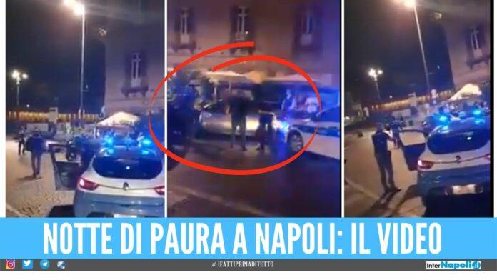 Folle fuga e scontri a Napoli, torna libero l'uomo che seminò il panico