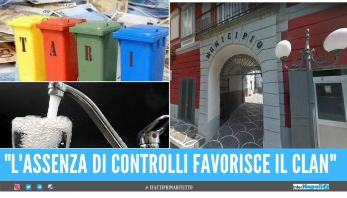 Gestione politica la camorra non pagava le tasse, scoperto il 'sistema' al Comune di Villaricca