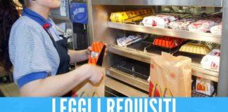 McDonald's cerca 120 dipendenti in provincia di Napoli, presto 2 nuove aperture