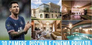 Messi e la sua nuova villa a Parigi