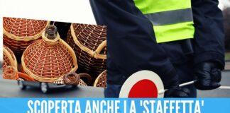 Nascondeva 3 kg di droga nelle damigiane, arrestato corriere di Napoli