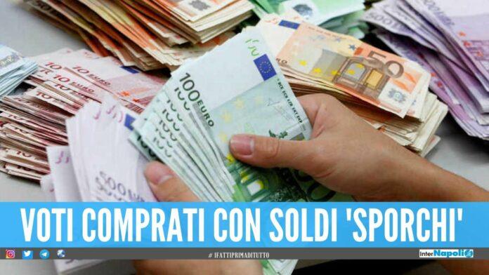 Nascondeva 350mila euro in casa, sequestro e denunce in provincia di Napoli