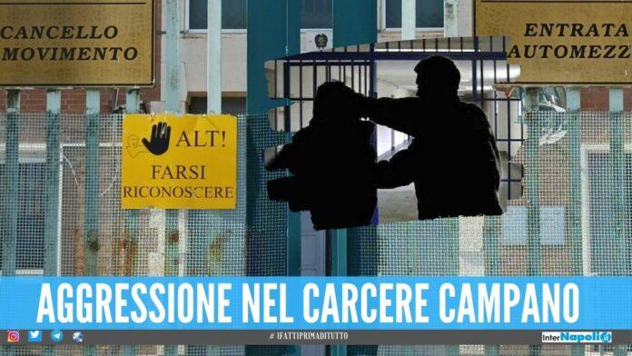 Pestaggio in carcere dopo il diverbio con il boss, agente aggredito ad Avellino