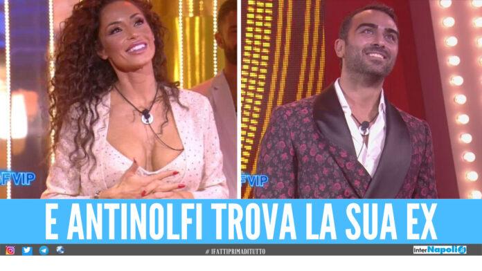 Raffaella Fico e Gianmaria Antinolfi al Grande Fratello Vip
