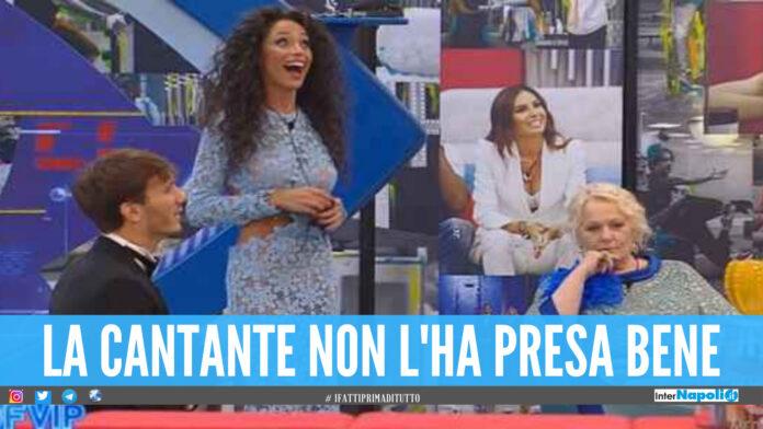 Raffaella Fico e Katia Ricciarelli al Grande Fratello Vip