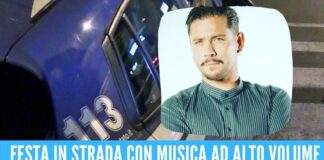 Rico Femiano finisce nei guai, la polizia interrompe il concerto neomelodico