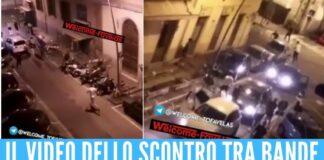 Scontro tra bande rivali con pistole, spranghe e spade 4 feriti a Livorno