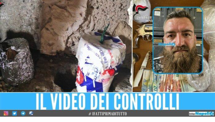 Sequestrati ordigni, pistola e droga a Scampia scatta l'arresto nella Torre