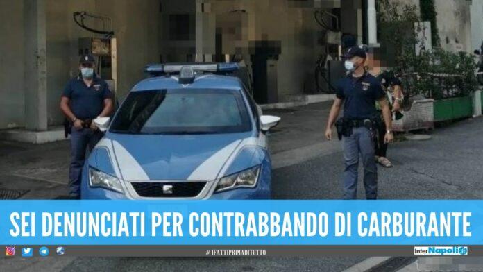 Sequestrato distributore a Napoli, sotto chiave oltre 4mila litri di carburante