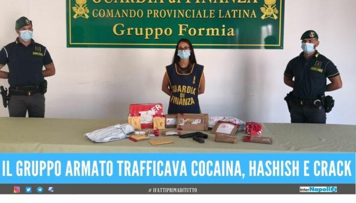 Sgominato traffico di droga tra la Campania e il basso Lazio 14 arresti
