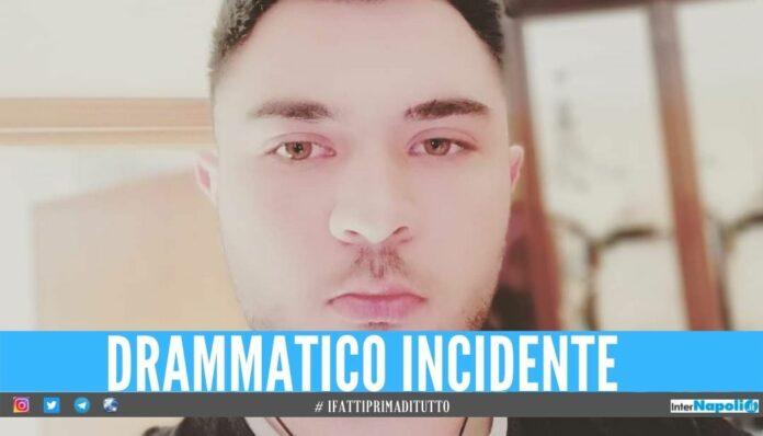 Tenta di evitare un cane con l'auto, il 22enne Daniele muore nel Salernitano