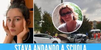 Giorgia Racca - foto La Stampa - a destra ma madre, Maria Assunta Centonze