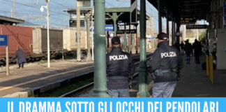 Tragedia alla stazione di Villa Literno, 23enne travolto e ucciso dal treno