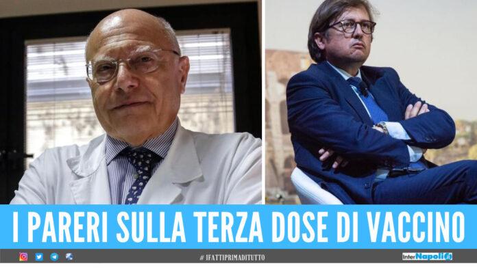 Covid, scontro tra gli scienziati Galli e Sileri sulle terza dose di vaccino