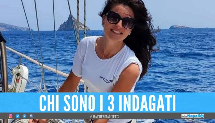 Barca in fiamme a Castellammare, Giulia morta a 23 anni: 3 indagati per omicidio colposo