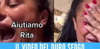 Rita De Crescenzo, lacrime e paura dopo il malore: «Non voglio stare più male per colpa sua»