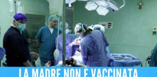 La piccola Sharon muore al Santobono, era nata prematura a causa del Covid