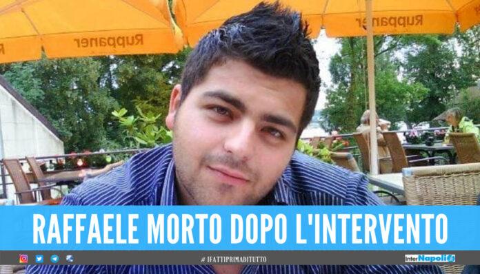 Napoli. Raffaele morto per un intervento by-pass gastrico, processo per i 2 medici indagati